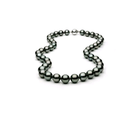Tahitian Pearl Necklace Pearl and Clasp