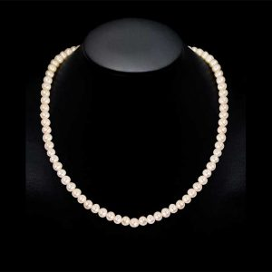 6mm Akoya Pearl Necklace - A Quality