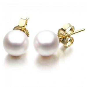 8 - 8.5mm Freshwater Pearl Earrings