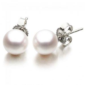 9 - 9.5 mm Freshwater Pearl Earrings