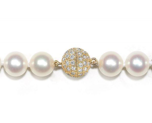 9mm Diamond Ball Clasp for Bracelet