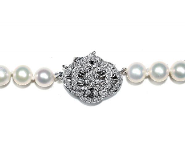 Blooming Flower Diamond Bracelet Clasp