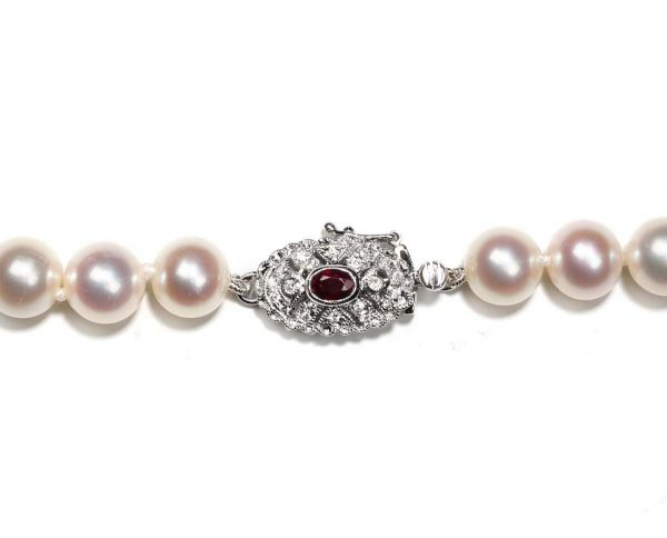 Colorful Beauty Pearl Necklace Clasp