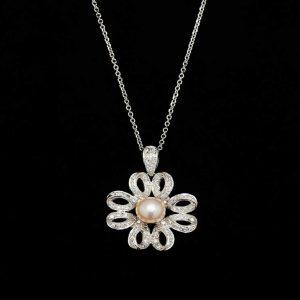 Flower Pearl Pendant