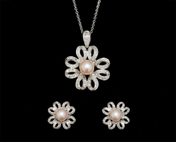 Flower Pearl Set