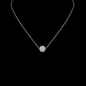 Silver 10mm Ball Necklace