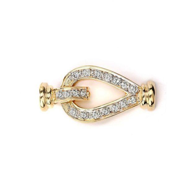 teardrop necklace clasp