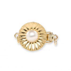 Budding Pearl Bracelet Clasp