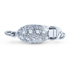 Diamond Rice for Pearl Bracelet Clasp