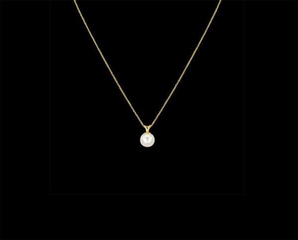 Gold Pearl Pendant