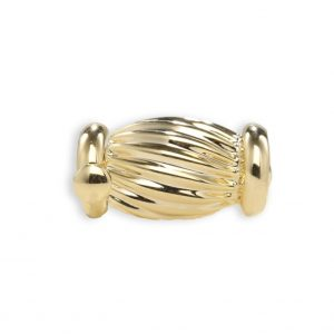 Pearl Necklace Golden Barrel Clasp