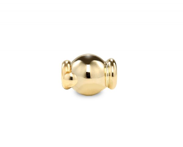 Pearl Necklace Little Gold Barrel Clasp