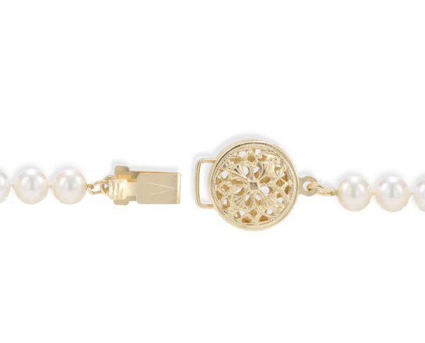 Round Filigree Necklace Clasp
