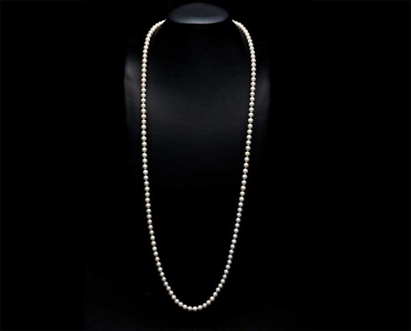 Mystery Pearl 69 Inch Necklace