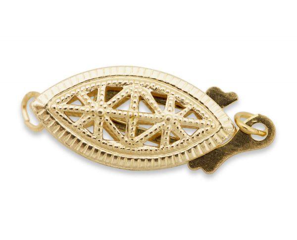 Silver Filigree Jewelry Bracelet Clasp