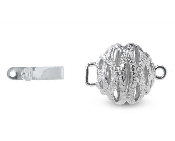 Twisted Ball Clasp