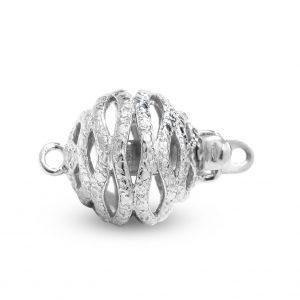 Twisted Bracelet Ball Clasp