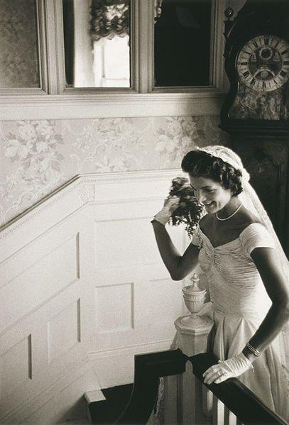 Wedding Dress of Jackie Kennedy